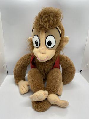 "Disney Mattel Aladdin Movie Monkey Abu Apu Soft 1992 Doll Plush Stuffed Toy 18"" for Sale in Social Circle, GA"