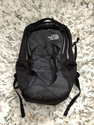 The North Face Flexvent backpack black and grey jester for Sale in Arlington, VA