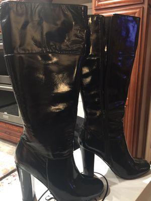 Michael Kors Violet Ankle Patent Leather Heels for Sale in Yorba Linda, CA