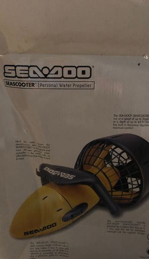 Sea Doo Sea Scooter personal water propeller. Never used brand new and brand new battery. Was a gift and will never use. for Sale in Arlington, TX