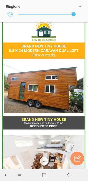 9 x 24 TINY HOUSE modern caravan dual loft full kitchen bathroom laundry sleeps 6 for Sale in Beverly Hills, CA