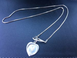 Silver Angle Lanyard Necklace for Sale in Trenton, NJ
