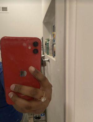 Iphone 11 (red) unlocked 128gbs for Sale in Philadelphia, PA