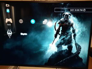 160gb PS3 slim 2 controllers 2 games for Sale in Hemet, CA
