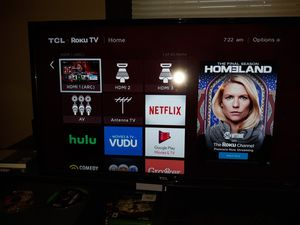 TCL 32 in Roku TV for Sale in South Amherst, OH