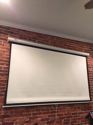100 inch Favi projector screen for Sale in Crofton, MD