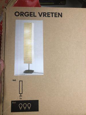 Floor lamp with shade for Sale in Woodbridge, VA