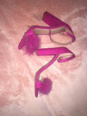 Hot Pink High Furry Toes High Heels for Sale in Springfield, MA