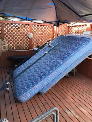 FREE Queen Mattress, Box Spring & Bed Frame for Sale in Renton, WA