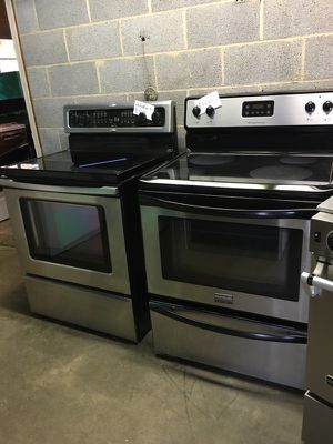 Appliances washer dryer microwave dishwasher stainless steel oven all on sale for Sale in Durham, NC