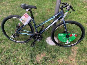 "Schwinn Women's Circuit 700c/28"" Hybrid Bike with Disc Brake, Navy for Sale in Garden Grove, CA"