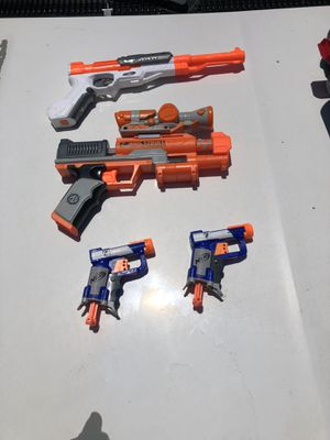 All Together Nerf Toys Guns for Sale in Los Angeles, CA