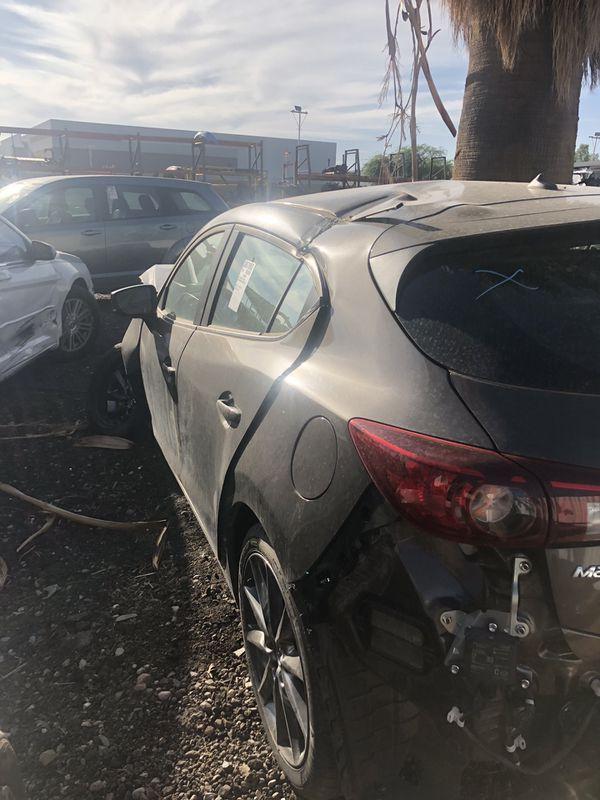 2018 Mazda 3 hatchback parts