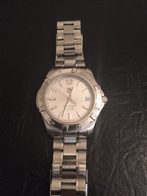 Tag Heuer Aquaracer M#WAF2111 Movement Stainless Steel Watch. for Sale in Brooklyn, NY