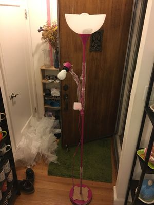 Brand new PINK floor lamp for Sale in San Francisco, CA