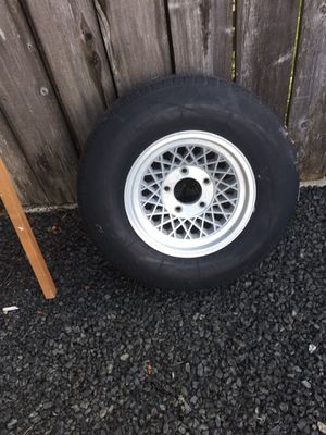 Used wheels and tires...fit ford 1/2 ton for Sale in Cosmopolis, WA