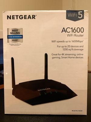 NETGEAR WiFi Router AC1600 for Sale in Queens, NY