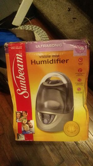 Sunbeam humidifier vapor visible for Sale in Mitchell, IL