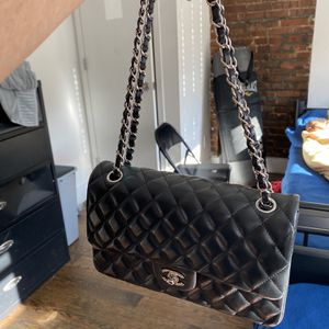 Chanel Classic Double Flap Silver Hardware for Sale in Brooklyn, NY