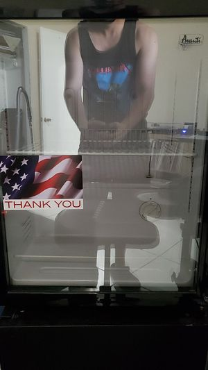 Mini fridge with glass door for Sale in Miami Lakes, FL