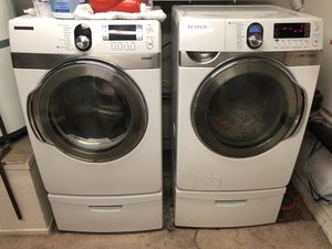 Samsung front load washer and gas dryer for Sale in Placentia, CA
