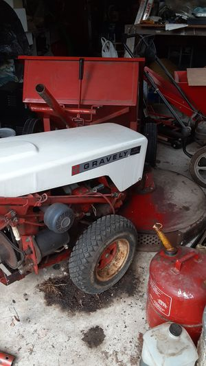 Gravely tractor/ mower with Implements for Sale in Vienna, VA