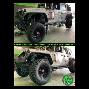 Lift kit and wheels and tires packages available for Sale in Corona, CA