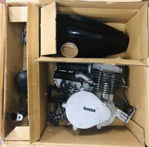 Seeutek 80cc Bike Motor Kit - Used 2 Stroke Motor - Tank, Carb & Muffler Included for Sale in Temple City, CA