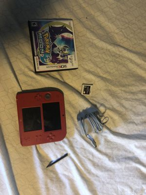 Nintendo 2ds with 3 games(including kingdom hearts dream drop distance,Pokémon moon and a downloaded tomadachi life for Sale in Plant City, FL