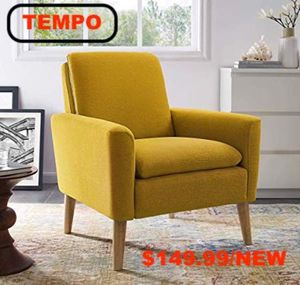 Accent Chair, Yellow for Sale in Downey, CA