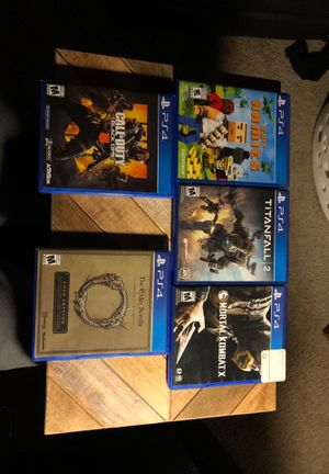 Video games for ps4 for Sale in Wichita, KS