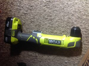 Ryobi 18V Right Angle Drill with ONE+ Battery included! Only $35 for both!! for Sale in Irving, TX