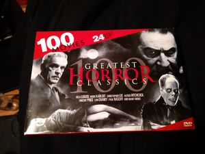 100 Greatest Horror Classics for Sale in Middle River, MD