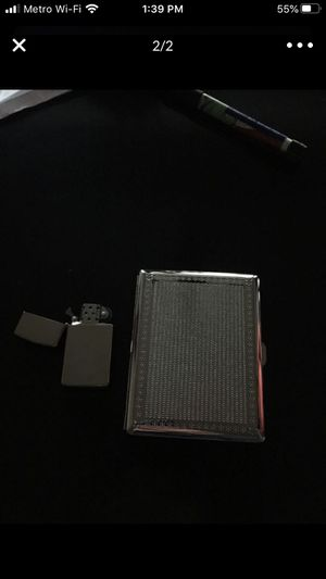 Zippo and case it's empty just has to be refilled for Sale in Garden Grove, CA