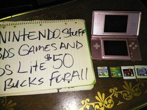 Nintendo.stuff.all.together.for.50.bucks. for Sale in Wichita, KS