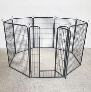 "New in box $125 Heavy Duty 48"" Tall x 32"" Wide x 8-Panel Pet Playpen Dog Crate Kennel Exercise Cage Fence for Sale in South El Monte, CA"