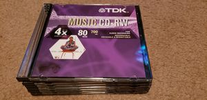 TDK Music CD - RW NEW Audio Recording Discs for Sale in Ramsey, MN
