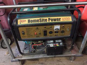 Onan 6500 watt generator for Sale in Anderson, TX