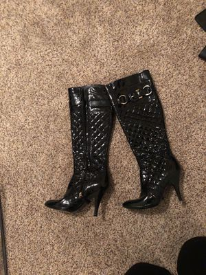 Authentic Burberry patent leather boots sz37 for Sale in Denver, CO