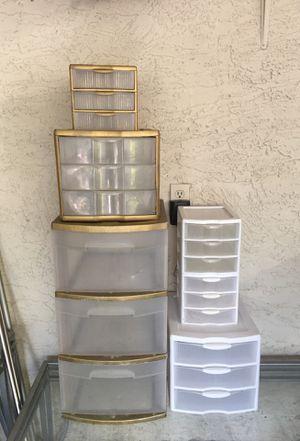 Plastic storage drawers for Sale in Phoenix, AZ