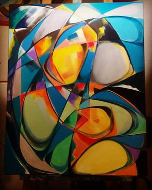 Original abstract paint for Sale in Orlando, FL