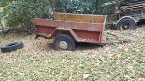 Little red trailer, Studebaker pickup bed for Sale in Irving, TX