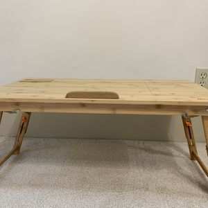 Bamboo Adjustable Laptop Table for Sale in Ashland, OH
