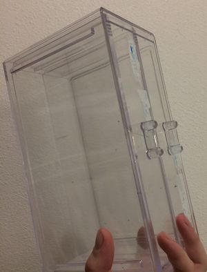 Clear 2 Drawer Container Storage for Sale in San Diego, CA