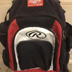 Rawlings Baseball Bat Backpack for Sale in Gilbert, AZ