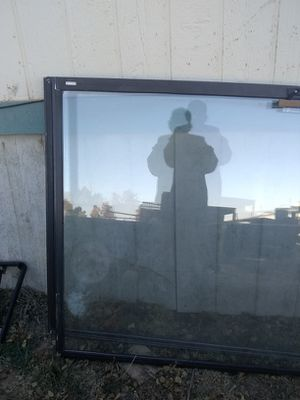 It's a sliding glass door for a house for Sale in Moriarty, NM