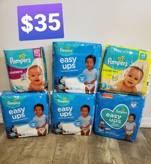 Pampers Diapers for Sale in Newburgh, NY