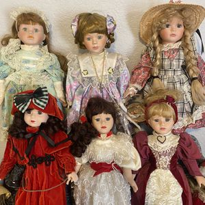Antique Porcelain Dolls for Sale in Fontana, CA