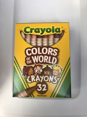 Crayola Colors of the World Diversity Crayons 32 for Sale in Lake Forest, CA