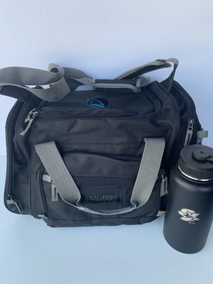 NEW San Jose Sharks - duffle cooler and stainless steel bottle for Sale in San Mateo, CA